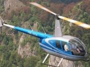 súkromný vyhliadkový let vrtuľníkom