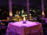 luxusná večera nad Dunajom s nádherným výhľadom