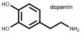 molekula dopamínu